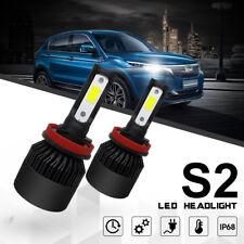 H11 H8 H9 Turbo LED Headlight Bulb Conversion Kit Hi Power 6000K 24000LM Canbus