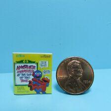 Dollhouse Miniature Replica Book of Sesame Street Monsters ~ B099