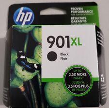 HP 901XL Black High Yield Ink Cartridge, New in Retail Box !!! EXP 2019 - 2020 !