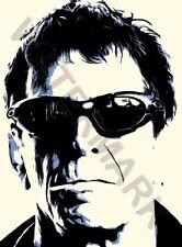 LOU Reed FUMARE Rock n Roll Star Legend Muro Poster Art Print LF3181
