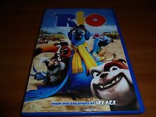 Rio (DVD,Widescreen 2011) Animated Used