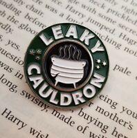 Harry Potter Leaky Cauldron Enamel Lapel Pin Badge Hogwarts Diagon Alley