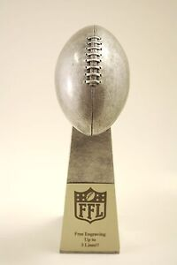 "FANTASY FOOTBALL TROPHY 9.5"" LOMBARDI -  FREE ENGRAVING!  SHIPS IN 1 DAY!"