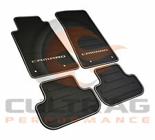 2010-2015 Camaro Genuine GM Front & Rear All Weather Floor Mats 22766717