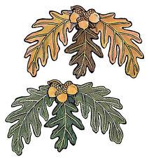 Acorn & Oak Leaf 25 Leaves Green Brown Wallies Wall Decals Stickers Decor Fall