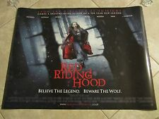 RED RIDING HOOD movie poster (UK Quad) AMANDA SEYFRIED poster 30 x 40 inches (B)
