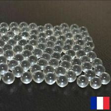 Billes transparent X100-9mm Pour Lance Pierre Catapulte loisir Tir Arc Chasse