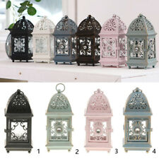 Antique Style House Lantern Tealight Holder Shabby Chic Wedding Party Deocr