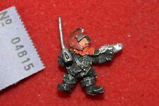 Games Workshop Warhammer 40k Squats Officer Brew Ithaca Rogue Trader Era OOP