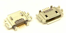 2X Sony Xperia P LT22 LT22i Conector Toma de Carga Dock Micro USB Madera Haya