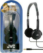 JVC Foldable Light Weight Stereo Headphones Black HAL50