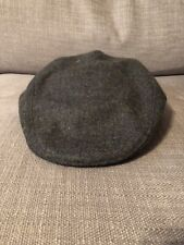 John Hanley Irish Wool Tweed Cap Color: D58 Size M 7.5 Made in Ireland