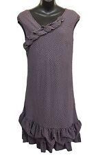COP COPINE Kentucky Robe Dress Pale Purple Size 40 US L