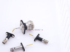 SMA and N Female Set of Extended Chassis Connector Adapter - Sold by W5SWL