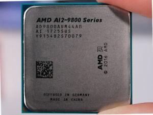 AMD A12 9800 Quad Core 3.8GHz Socket AM4 CPU AD9800AUM44AB with Radeon R7 GPU