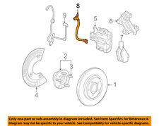 FORD OEM Rear Brake-Hydraulic Flex Hose 8G1Z2A442A