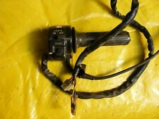 SUZUKI GSX 400 T TWIN RIGHT HAND SWITCH AND THROTTLE CABLE