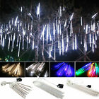 Meteor Shower Falling Star Rain Drop Icicle Snow LED XMAS String Lights Decor