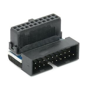 ABS 90 Degree USB Socket USB 3.0 Desktop Motherboard Connector for Desktop