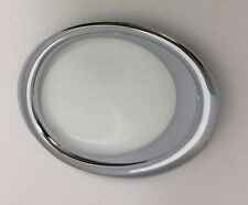 PASSENGER RH SIDE FOG LIGHT BEZEL CHROME TRIM RING FOR FORD FUSION 2013 - 2016