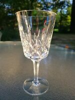 """Gorgeous Gorham Crystal King Edward 7 1/8"""" Water Goblet Excellent Condition ❤"""