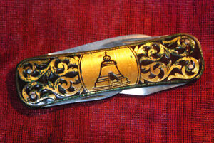 Folding Multifunctional Poket Knife Vintage Soviet Original Collectable