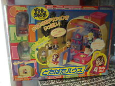 Vintage Dr SLUMP ARALE 1998 : Set mini figures + house diorama en valisette