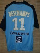 Olympique Marseille FRANCE away 2008 2009 football shirt jersey #11 DESCHAMPS