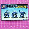 Warzone Mutant Chronicles Bauhaus Vulkan Battlesuits (Metal) Target Games Mechs