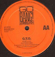 G.T.O. - Pure (Remix) - 1990 - Go Bang! - BANGR 004 - Holl