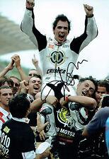 Toni ELIAS Autograph SIGNED 12x8 Photo MOTO2 Champion COA AFTAL