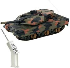 1:24 German LEOPARD II A5 RC Battle Tank Radio Remote Control Army Tank Toys