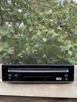 Nintendo Wii Black RVL-101 Tested Working