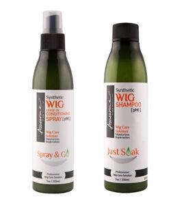 Awesome Synthetic Hair Wig Spray & Shampoo SET