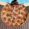 Tortilla Blanket Burrito Pizza Blanket -Corn and Flour Tortilla Throw 152CM