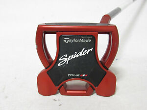 "Used RH Taylormade Spider Tour Red 34"" Putter With Headcover"