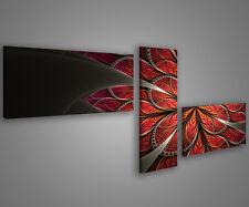 Quadri moderni astratti 180 x 70 stampe su tela canvas con telaio MIX-S_51