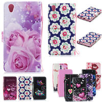 Protective Phone Leather Book Flip Case Magnet Wallet Cover For Sony Xperia L1