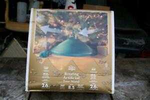 Vintage Home Logic Rotating Artificial Tree Stand New in Box 8.5' Capacity
