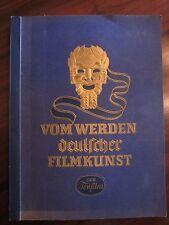 """Zigarettenbilderalbum """"Vom werden deutscher Filmkunst der Tonfilm"""" 1935"""