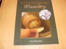 Book: Woodturning Wizardry By David Springett - As Photo