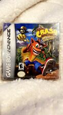 Crash Bandicoot: The Huge Adventure (Nintendo Game Boy Advance, 2002) Brand New