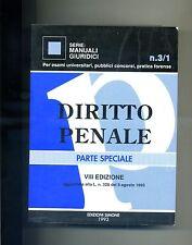 L.Delpino # DIRITTO PENALE - Parte Speciale VIII Edizione # Esselibri 1993