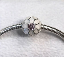 Pandora Blooming Dahlia, Clip Pink CZ Charm #791828NBP + Gift Packaging + Pouch