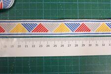 original vintage braid/trim 60s/70s, 25mm wide sold in 3 metre lengths