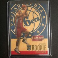 2006-2007 Threads Ben Simmons, Wood Rookie Card #248, 76ers, james