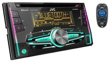 JVC Refurbished KWR910BT Double DIN In-Dash Car Stereo Receiver w/ Bluetooth