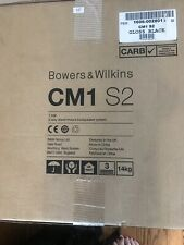 Bowers And Wilkins CM1 S2 Speakers Gloss Black New