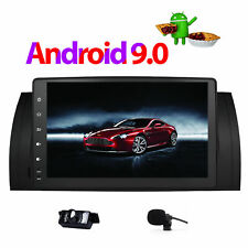 "9"" BMW E39 X5 E53 M5 Android 9.0 Car Stereo GPS Radio Player Sat Nav WiFi BT UK"