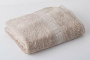 24 x Beige Luxury 100% Egyptian Cotton Hairdressing Towels Salon Beauty 50x85cm